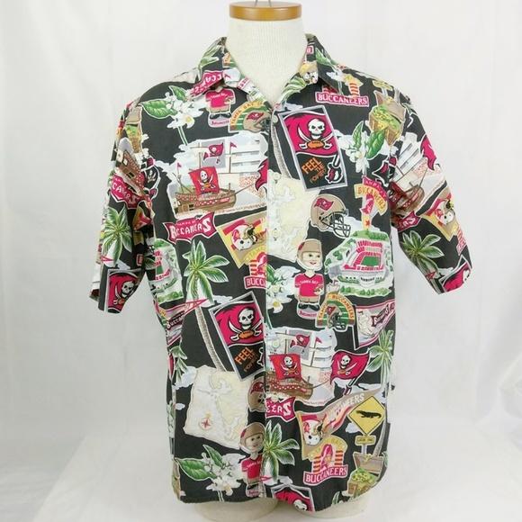 Reyn Spooner NFL Tampa Bay Buccaneers Shirt 025eabc7a